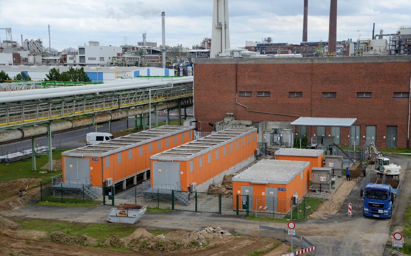 Ausbau der Netzinfrastruktur im CHEMPARK Dormagen